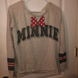 Disney Parks Minnie Mouse 28 Long Sleeve